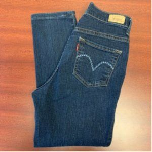 Levis 512 Perfectly Slimming Ankle Pencil Jeans